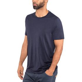Icebreaker Tech Lite SS Crew Shirt Men midnight navy